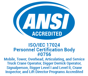 ANSI logo home page with accreditations300x