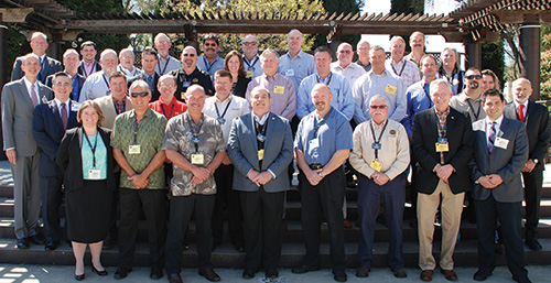 More than 60 NCCCO Commissioners, committee members, and guests gathered in Sacramento, CA in April for the Commission's 40th Biannual Meeting.