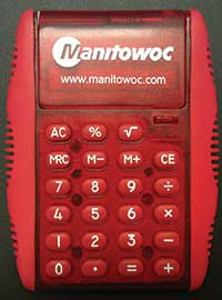 Manitowoc Exclusive Calculator Sponsor for CCO Exams