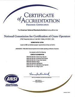 how to get crane operator certification
