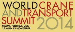 World Crane and Transport Summit 2014